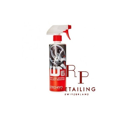 W6 Iron and General Fallout Remover 500ml
