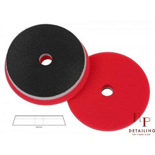 PAD HD Orbital Red Super Finish (With center pierced) 125mm