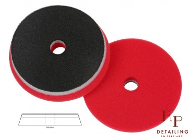 PAD HD Orbital Rouge Super Finition (avec centre percé) 125mm