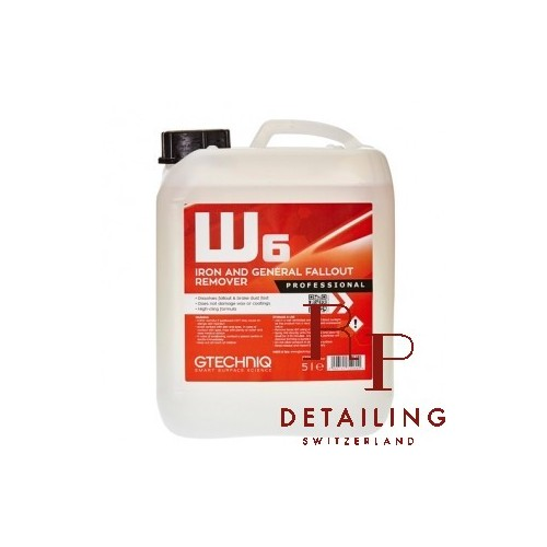 W6 Iron and General Fallout Remover 5L